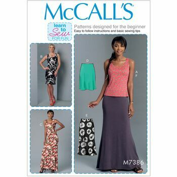 McCalls pattern M7386