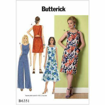 Butterick pattern B6351