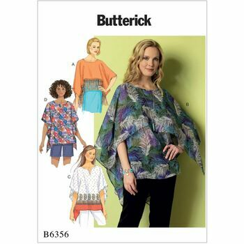 Butterick pattern B6356