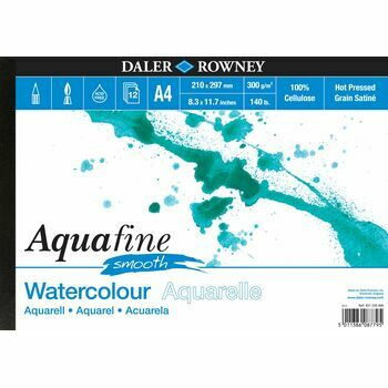 2 x Aquafine Smooth Watercolour Pad (A4)