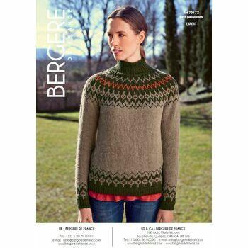 Cat. 15/16 #150 - Sweater with jacquard yoke