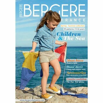 Bergere De France Magazine 185 - Kids Spring/Summer Collection