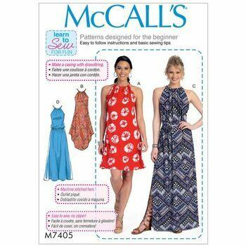 McCalls pattern M7405