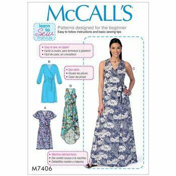 McCalls pattern M7406