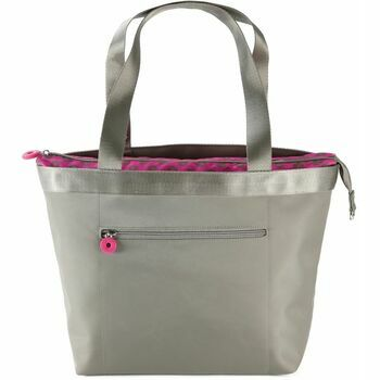 Tintamar for Bergere Taupe Multi-Pocket Knitting Bag