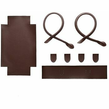 Brown Faux Leather Tote Bag Kit