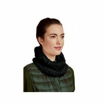 Black Double Face Snood Kit (with needles)