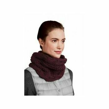 Plum Twisted Snood Kit (with needles)