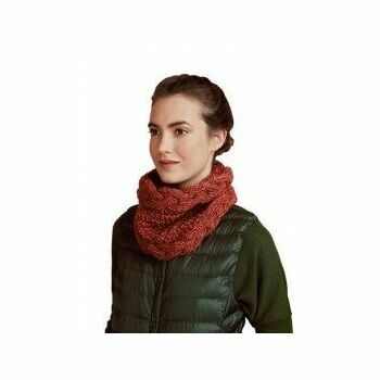 Rust Twisted Snood Kit (with needles)