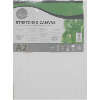 Daler Rowney Simply Stretched Canvas (A2)