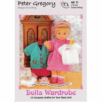 Peter Gregory Dolls Wardrobe (AK11)