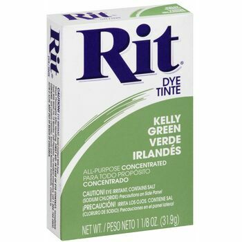 Rit Dye Powder Dye (31.9g) - Kelly Green