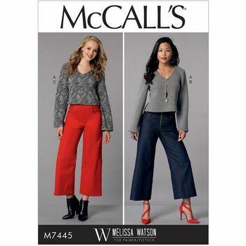 McCalls pattern M7445
