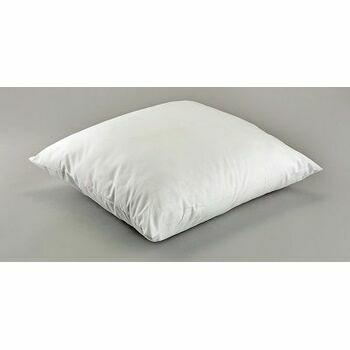 "Hallis 16"" x 16"" 265g Hollow Fibre Cushion Pad With Polycotton Cover"