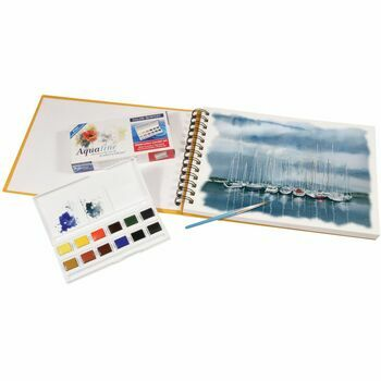 Daler Rowney Artists Watercolour Travel Set