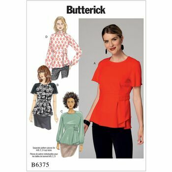 Butterick pattern B6375