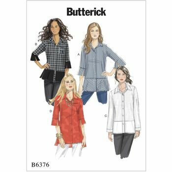 Butterick pattern B6376