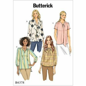 Butterick pattern B6378