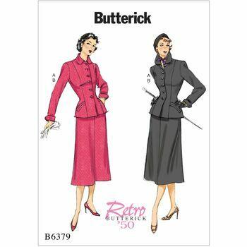Butterick pattern B6379