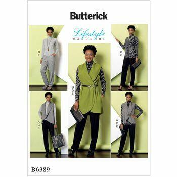 Butterick pattern B6389