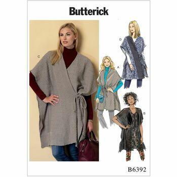 Butterick pattern B6392
