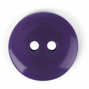 Purple 2 hole button: 15mm