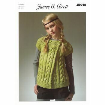 James C Brett Pattern Chunky JB048