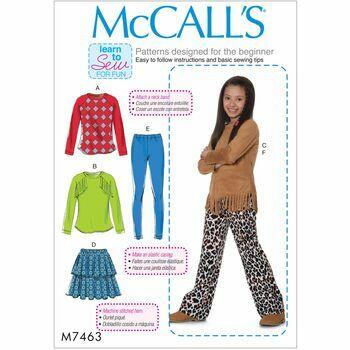 McCalls pattern M7463