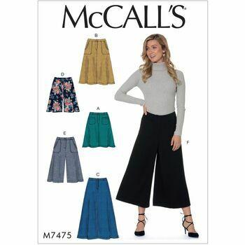 McCalls pattern M7475