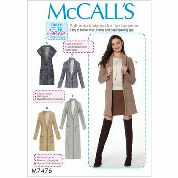 McCalls pattern M7476