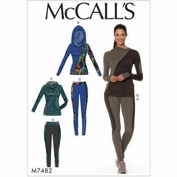 McCalls pattern M7482