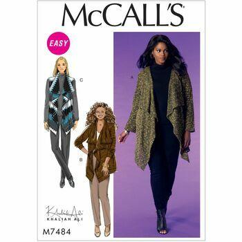 McCalls pattern M7484