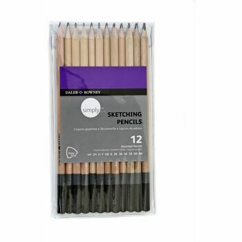 Daler Rowney 12 Simply Sketching Pencil Set