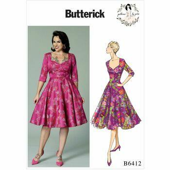 Butterick pattern B6412