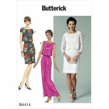 Butterick pattern B6414