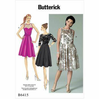 Butterick pattern B6415