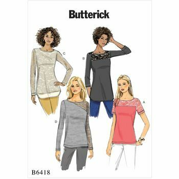 Butterick pattern B6418