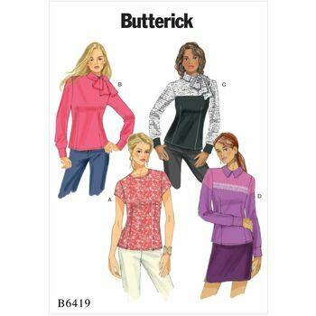 Butterick pattern B6419