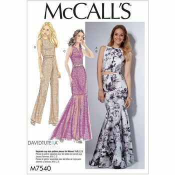 McCalls pattern M7540