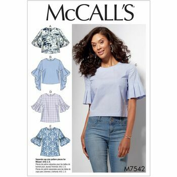 McCalls pattern M7542