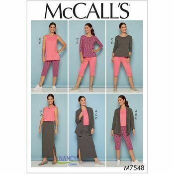 McCalls pattern M7548