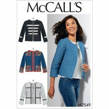 McCalls pattern M7549