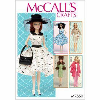 McCalls pattern M7550