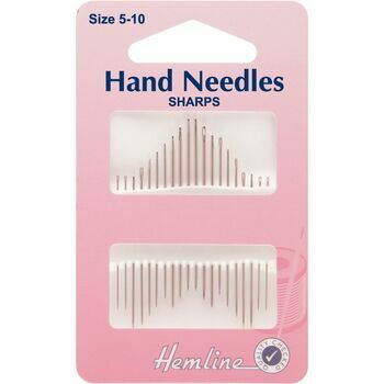 Hemline Sharps Hand Needles - Size 5-10