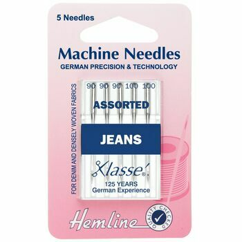 Hemline Jeans Machine Needles - Assorted