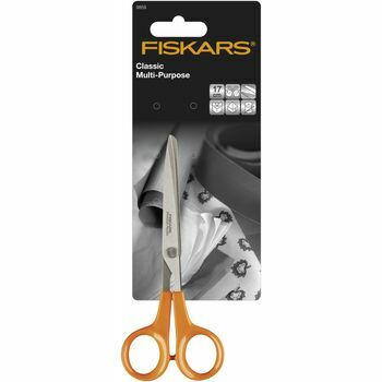 Fiskars Classic Multi-Purpose Scissors - 17cm