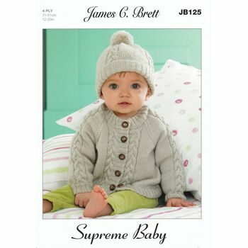 Brett Pattern JB125 - Supreme Baby 4 ply