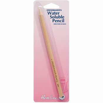 Hemline Dressmaker's Water Soluble Pencil