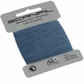 Scanfil Mending Wool - Steel Blue (15m)