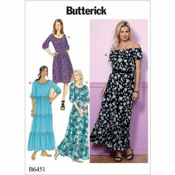 Butterick pattern B6451